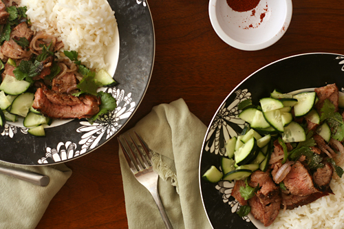 thai steak salad 5