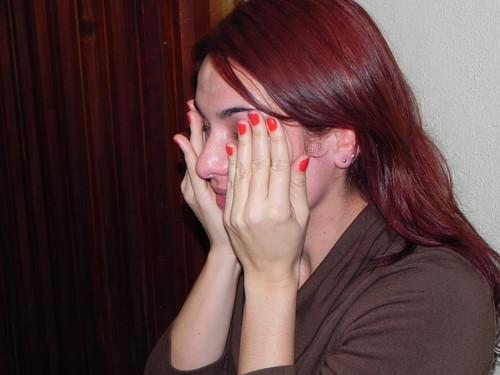 Olivia se emociona com o grupo by Silvana Abreu