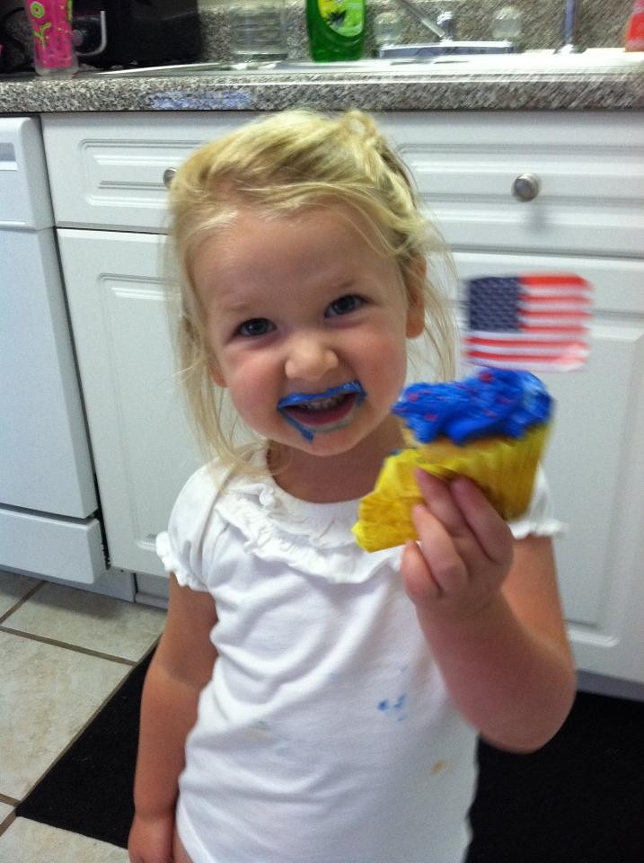 EPG cupcake july 4