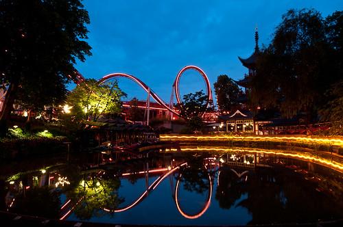 Tivoli, el Parque de Atracciones de Copenhague
