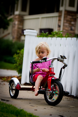 She wants to ride a bicycle, she wants to ride a bike! 47.365 #TeamPhotoBlog by dhgatsby
