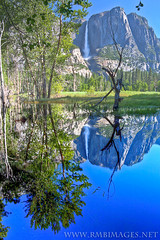 Yosemite #1 (Bowman66) Tags: california trees mountains reflection water grass canon nationalpark meadow bank falls yosemite granite yosemitevalley flickrdiamond artistoftheyearlevel3 artistoftheyearlevel4 rmbimages ayrphotoscontestsummercolors artistoftheyearlevel5