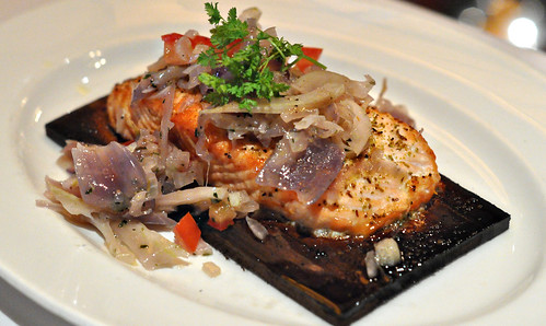 Cedar Planked Salmon at Capital Grille ~ Minneapolis, MN