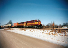 I think we took a wrong turn at Junction City! (gregcochenet) Tags: railroad wisconsin greg trains wc canadianpacific sooline cp soo cpr wi detour wisconsincentral sd45 wcl duplainville t218 tofc cochenet