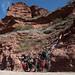 Formazioni rocciose verso la Cuesta Las Trancas
