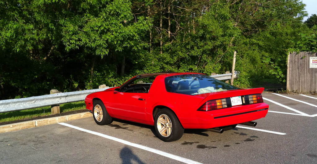 Sport Coupes With Iroc Taillights Third Generation F