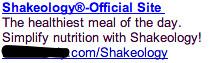 Shakeology Ad #2