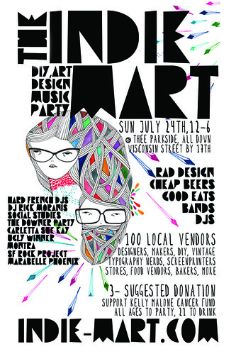 INDIE MART JULY FRONT FLIER FRONT FINAL
