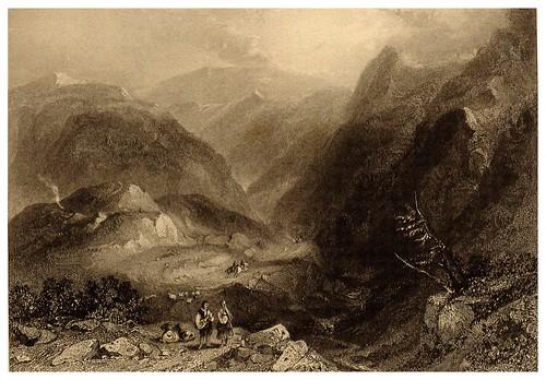 018-Camino de Nafplion a Corinto-La Grèce pittoresque et historique 1841- Christopher Wordsworth-© Biblioteca de la Universidad de Heidelberg