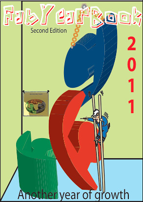 FabYearBook 2011 Cover