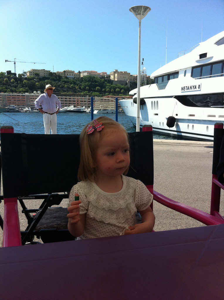 Elaine in Monaco