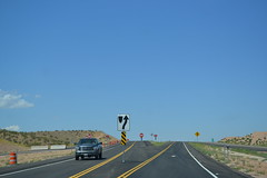 Southern Pkwy  super-two to regular four (CountyLemonade) Tags: utah airport ramp freeway exit stgeorge sr7 municipalairport biggreensign southernparkway stateroute7