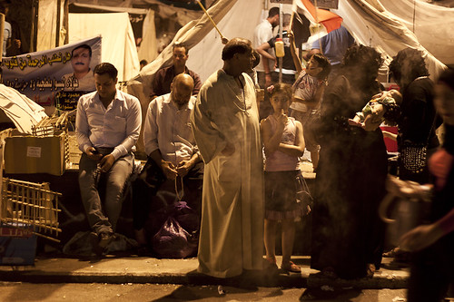 Night in Tahrir Square
