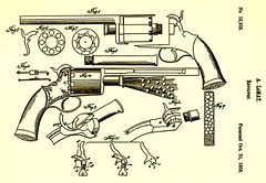 LeMat Revolver Original Patent Drawing