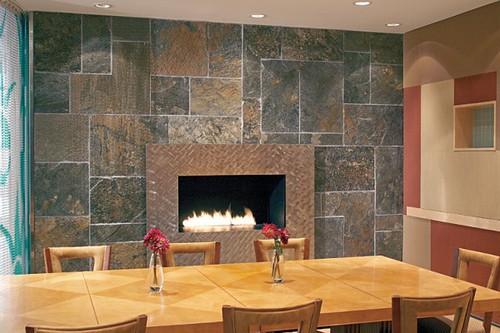 Revestimientos de interior con piedra ambiente natural en tu hogar