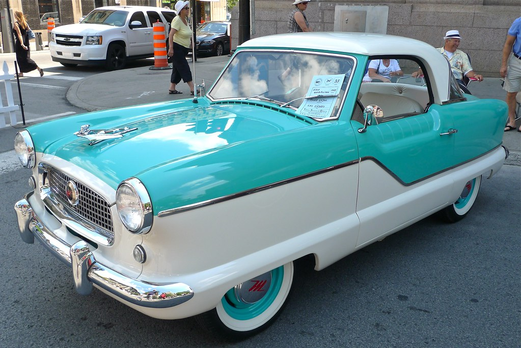 Copyright Photo: Nash Metropolitan 1958 -3 by Montreal Photo Daily, on Flickr