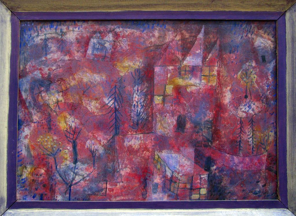 Paul Klee, Paysage à l'enfant (1923)