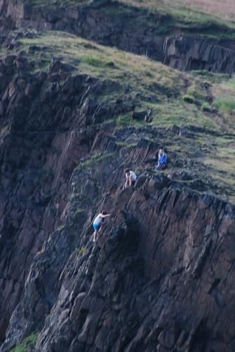 Climbing the Craigs