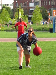 spacejunk team kickball (jdeanphoto) Tags: columbus ohio kickball spacejunk citycentermall columbuscommons