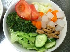 朝食サラダ(2011/7/19)