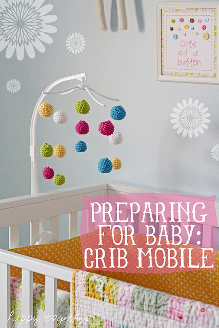 Crocheted Crib Mobile