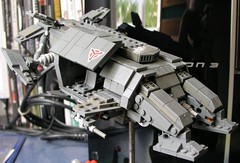 HGH dropship (ORRANGE.) Tags: 3 by lego playstation orrange helghast killzone dropship