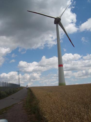 Das weltgrößte Windrad
