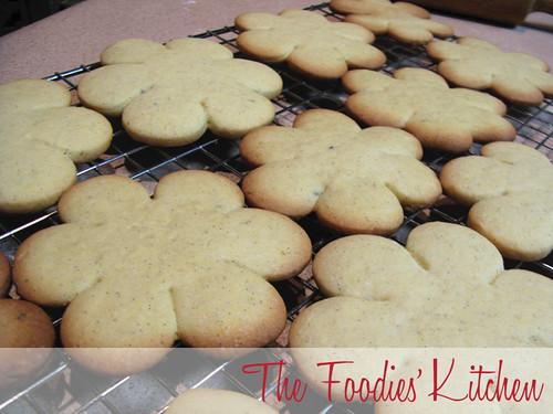 Lavender-Vanilla Cookies