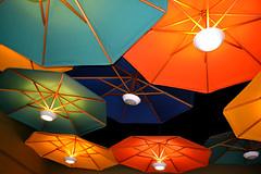 sombrillas de colores por Jorge C. Coria (Coria2010) Tags: fashion umbrella colores lampara sombrilla paraguas