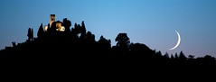 Montevecchia Moonset (Thumbnail)