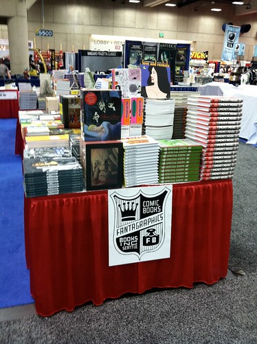 Fantagraphics Booth at Comic-Con International 2011