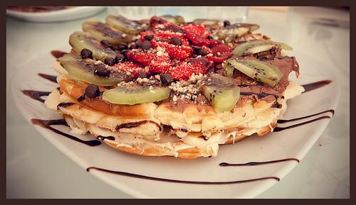 Waffle waffle krep tarifi dondurmalı waffle keyfi tarifi waffle