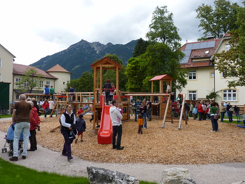 Spielplatzeröffnung Wettersteinstraße