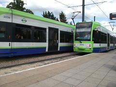 Tramlink unit 2542 on service 3 Sandilands 22/07/11. (Ledlon89) Tags: london transport tram tramway croydon bombardier tramlink tfl electrictransport alltypesoftransport uktramsystems
