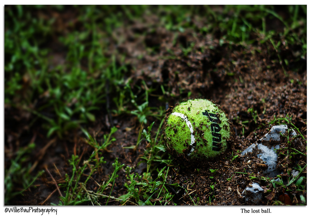 The lost ball...