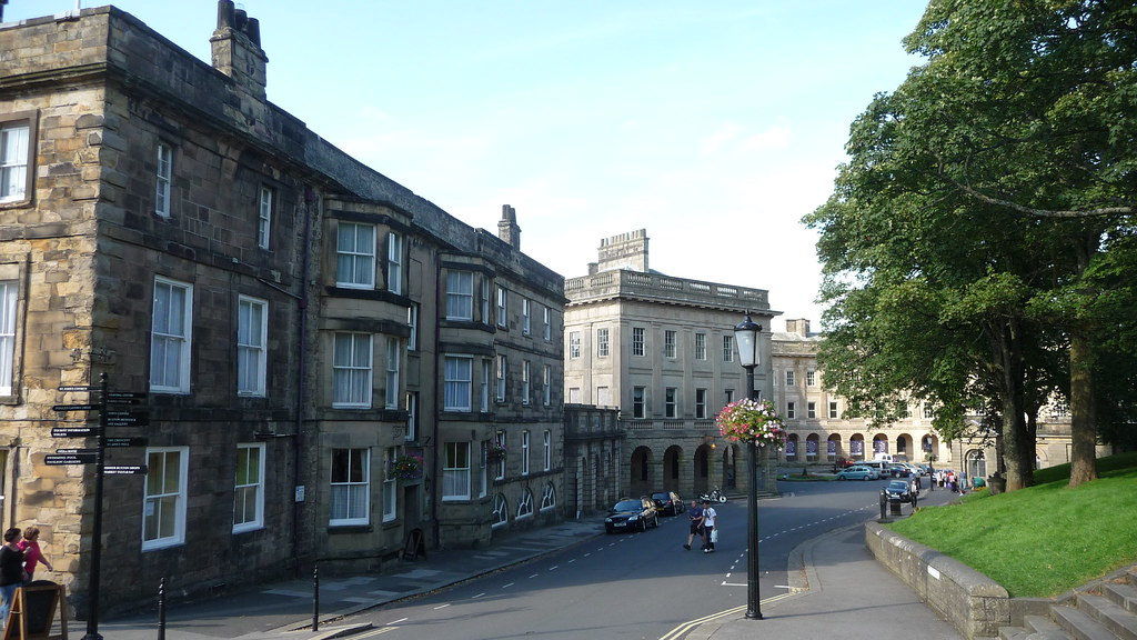 Old Hall Hotel and The Crescent Buxton Derbyshire