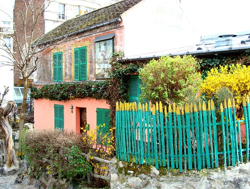 Butte Montmartre Lapin Agile by Julie70