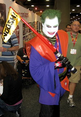 Darth Joker cosplay at Comic-Con 2011