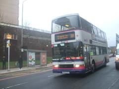 First Glasgow Volvo Olympian 34203 Glasgow 08/11/10 (David_92) Tags: volvo glasgow first alexander royale olympian uyg 34203 m923 m923uyg