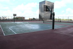 Hilton basketball court