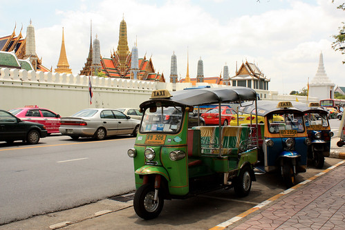 Tuk-tuk Outside the Grand Palace
