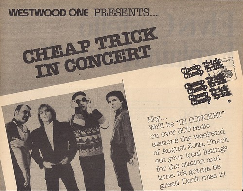 08-20-82 Cheap Trick @ Westwood One Radio (Top)