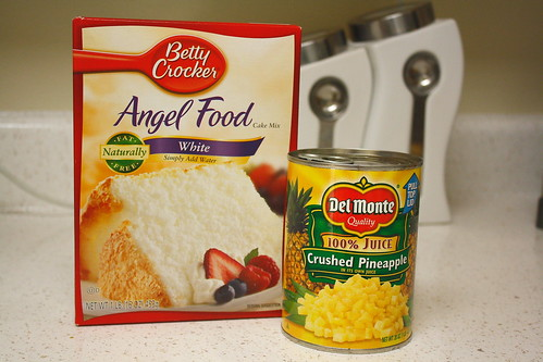 Recipe angel food cake mix can pineapple