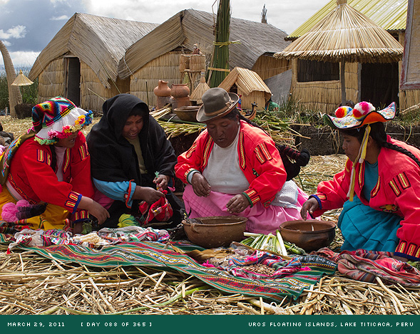 Uros Floating Islands, Peru