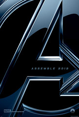 110725(2) - Visualizing the Marvel Cinematic Universe - The Avengers的SDCC攤位專屬電影海報!