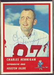 1963 Fleer - 38 - Charles Hennigan