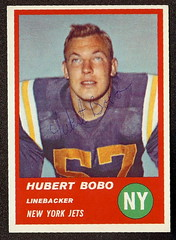 1963 Fleer - 21 - Hubert Bobo