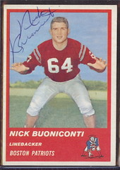 1963 Fleer - 10 - Nick Buoniconti