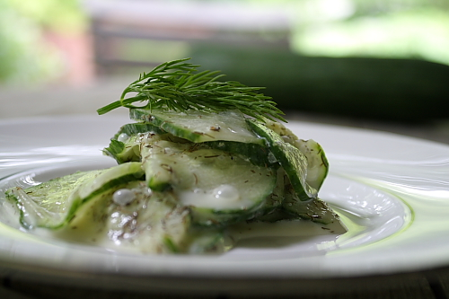 Polish Cucumber Salad