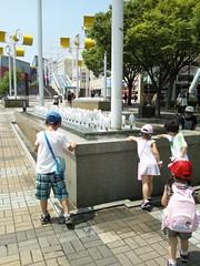 水遊びの写真